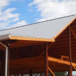 New roof on the Barn